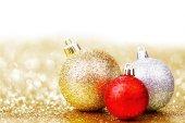 Prachtige kerstballen — Stockfoto