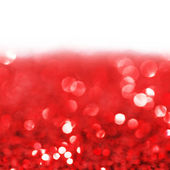 Red twinkling lights background — Foto de Stock