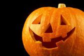 Halloween pompoen — Stockfoto