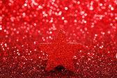 Christmas dekoratif yıldız — Stok fotoğraf