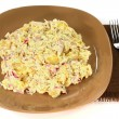 Gourmet Potatoes onion salad and mayonnaise   — Stock Photo #60179855