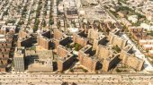 Aerial view of Queens Borough, New York — Stock Photo