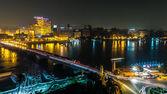 Cairo at night — Stock Photo