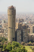 Prominent buildings of downtown Cairo — Stock Photo