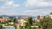 Bole area of Addis Ababa — Stock Photo