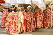 Timket, la fête éthiopienne orthodoxe de l'Épiphanie — Photo