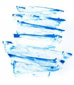 Blue paint — Stockfoto