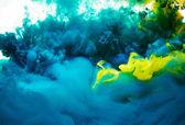 Respingo de pintura abstrata — Foto Stock