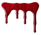 červený lak na nehty — Stock fotografie
