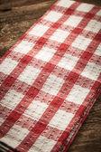 Checkered fabric — Stock Photo