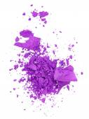 Crushed purple eye shadow — Stock Photo
