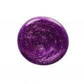 Blot of purple nail polish — Stock Photo