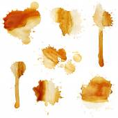 Blots of coffee — Stock Photo