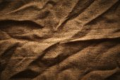 Creased burlap — Stock Photo