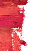 Smudged lipstick — Stock Photo
