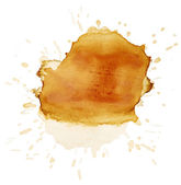 Brown Blots of tea — Stock Photo