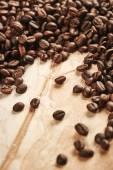 Taze kahve çekirdekleri — Stok fotoğraf