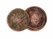 Oude munten — Stockfoto