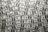 Textuur van dollar bankbiljetten — Stockfoto