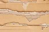 Texture of torn cardboard — Stock Photo