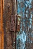 Door hinge — Stock Photo