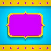 Bright banner — Stock Vector