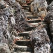 Macro photo of stone stairs — Stock Photo #60950803