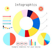 Set of infographics — Stock Vector
