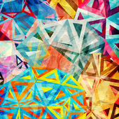 Abstract triangles background — Stock Photo