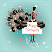 Happy Thanksgiving — Stock Vector