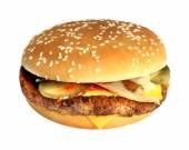 Big tasty burger — Stock Photo