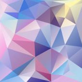 Abstract background of triangles — Stock Vector