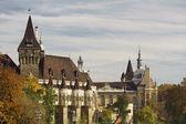 Historical building in Budapest - Vajdahunyad Castle — Stockfoto