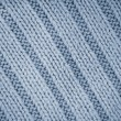 Detail of crocheted blue texture from a sweater made of wool — Stock Photo #62875815