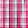Fabric pink texture checkered background — Stock Photo #63329413