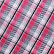 Fabric pink texture checkered background — Stock Photo #63329583