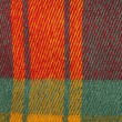 Red, yellow , green, colorful plaid wool texture, background — Stock Photo #63369981