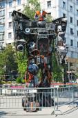 Transformers robots — Stock Photo