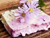 Floral Handmade Soap — Stock Photo