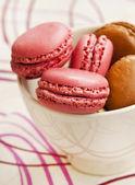 Macarons de frambuesa — Foto de Stock