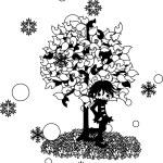 Winter tree-2 — Stock Vector #77368002