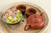 シャキッとしたゼリー タイのデザート — ストック写真