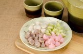 Thai sweetmeat, Thai dessert — Stock Photo