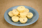 Pineapple cup cookie — Stock Photo