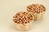 Raw peanuts — Fotografia Stock