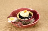Blueberry tart — Stock Photo