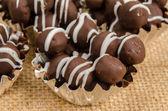 Chocolate ball — Stock Photo