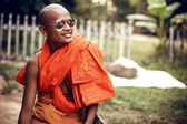 Portrait of Monk — Stock Photo
