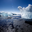 Jokulsarlon, Iceland - Mid summer. — Stock Photo #53883675