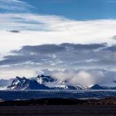 Vatnajokull glacier — Stock Photo